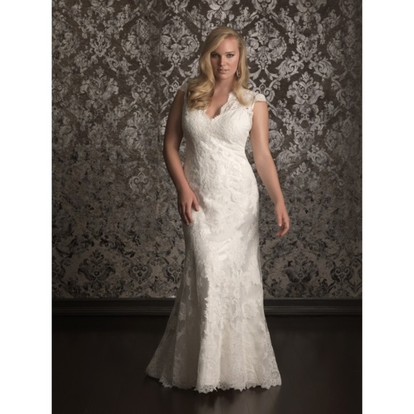 57b6400a426c Allure Bridals Dresses | Allure Wedding Dress Style 315 Size 18w ...